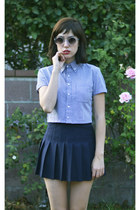 top and skirt American Apparel top