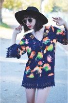 dress dahlia wolf dress - heels sam edelman heels - accessories