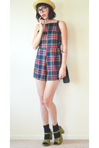 plaid romper mombasarose romper - koons for hm H&M bag