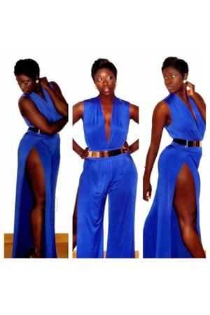 blue AJ Lynne jumper
