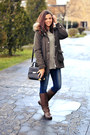 Brown-ccc-boots-navy-jennyfer-jeans-army-green-forever21-jacket