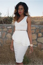 White-peplum-smoochxoxo-dress