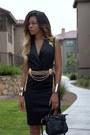 Black-slit-altuzarra-for-target-dress-black-cross-body-forever-21-bag