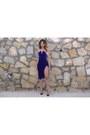 Blue-velvet-akira-dress-black-patent-leather-christian-louboutin-heels