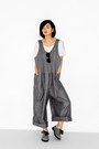 Heather-gray-oversized-new-classics-studios-romper