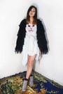 White-dalmation-print-lothian-shoes-white-cat-omighty-dress