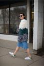 Light-blue-denim-new-classics-studios-skirt