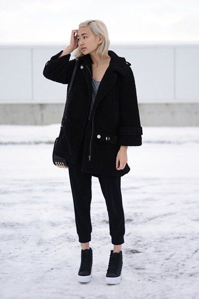 black frontrow shop jacket