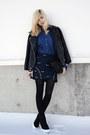 Black-topshop-shoes-blue-the-editors-market-dress-blue-choies-skirt
