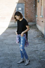 Sky-blue-joes-jeans-jeans-ruby-red-plaid-joes-jeans-blouse