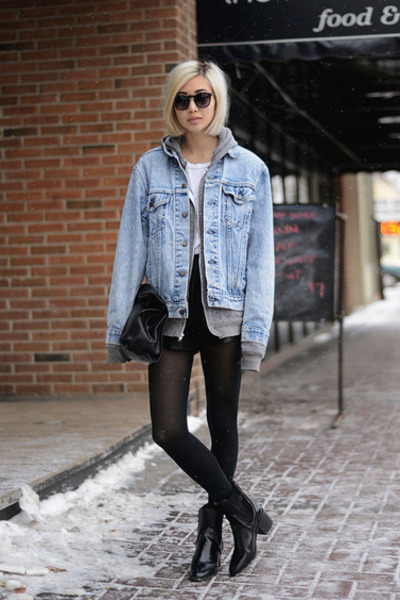 Light Blue Levis Denim Fate Jackets | u0026quot;C.R.E.A.M.u0026quot; by ALYYYSSAALAUU | Chictopia