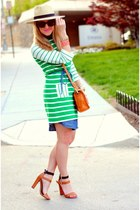 asos dress - Old Navy dress - Target hat - Zara sandals