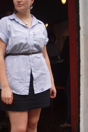 blue Levis Vintage blouse