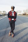 Varsity-jacket-lifetime-collective-jacket-black-wayfarer-ray-ban-sunglasses