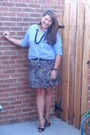 Ann-taylor-loft-shirt-payless-heels-forever-21-skirt-world-market-necklace