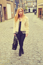 Urban Outfitters blazer - Marc B bag - Bershka pants