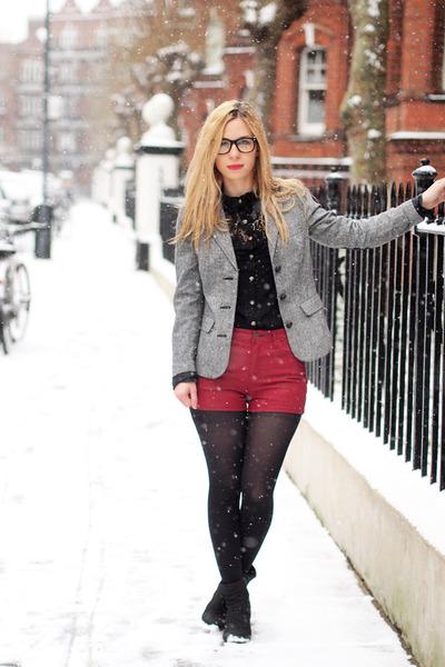 Ebay shirt - Urban Outfitters blazer - Ebay shorts