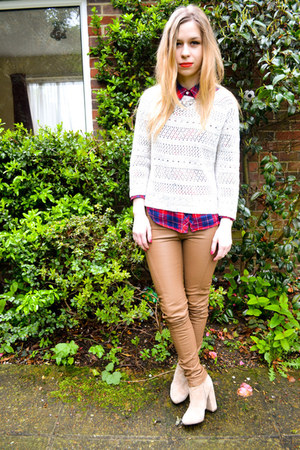 asos boots - H&M shirt - Ebay pants - Primark jumper