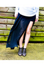 Ebay-skirt-seashells-vintage-sweater-urban-outfitters-heels
