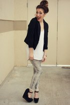 Urban Philosophy leggings - Target blazer - asos t-shirt