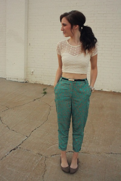 Urban Outfitters top - Target pants