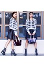 Plaid-cotton-on-sweater-leather-skirts-zara-skirt