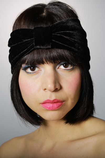 velvet turban Kristin Perry accessories