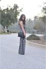 Black-vintage-chanel-bag-black-justfab-heels-black-lush-jumper