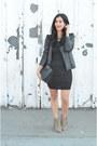 Dark-khaki-dolce-vita-boots-black-splendid-dress-black-vanessa-bruno-jacket