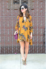 Camel-free-people-dress-magenta-justfab-bag-camel-chinese-laundry-heels