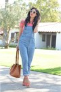 Blue-obey-jeans-camel-louis-vuitton-bag-orange-justfab-heels