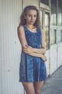 Black-zealotries-shoes-blue-jeans-oasap-dress