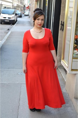 red Manon baptiste dress