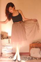 Overdose skirt - Uniqlo top