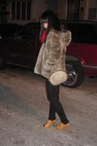 vintage jeans - vintage blouse - madewell pants - Vintage Gucci bag - Steve Madd