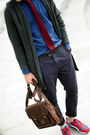 Charcoal-gray-asoscom-cardigan