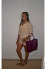 Kate-spade-bag-buffalo-shorts-h-m-top-steve-madden-sandals