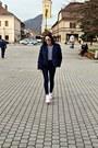 Bershka-coat-zara-bag-h-m-sunglasses-nike-sneakers-zara-blouse