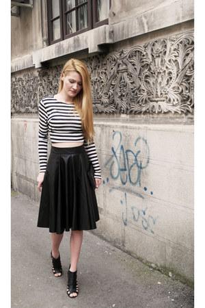 Mango bag - asos heels - Zara skirt - H&M top