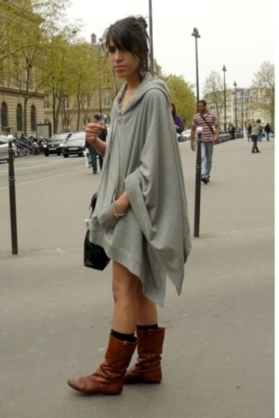 Maje sweater - H&M socks - Jonak boots