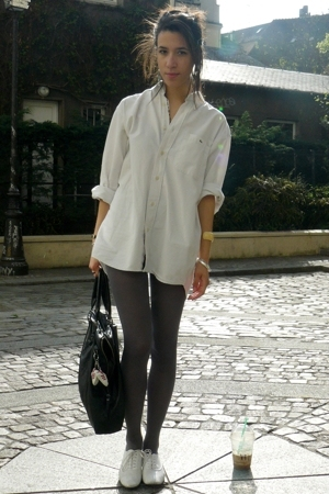 Lacoste shirt - Zara shoes - American Apparel blazer