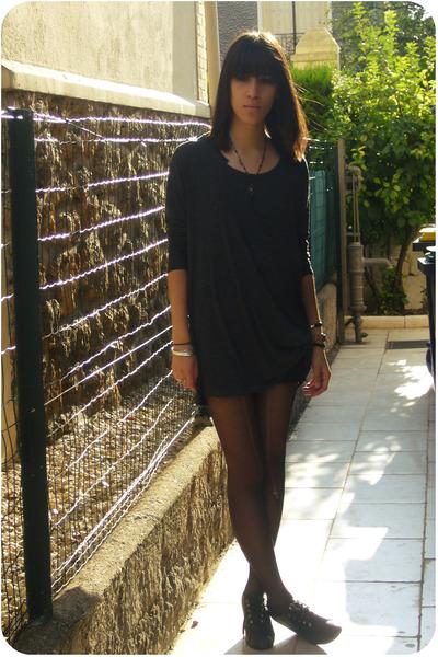 Zara shirt - American Apparel skirt - Quai de Scene shoes