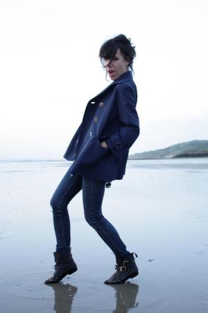 Et Vous blazer - Cheap Monday jeans - Topshop boots - H&M shirt