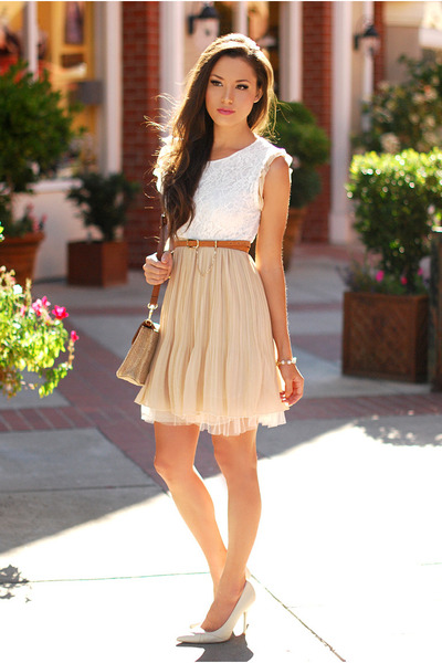 Tan Skirts Tawny Belts Quot Summer Dress Quot By Adnana Chictopia