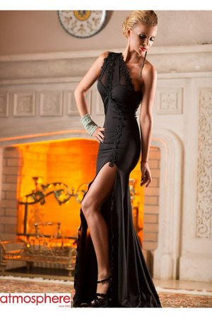 black Zonia dress