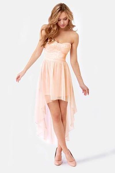 Babies Pink Dress Light Pink Dress Peach Heels