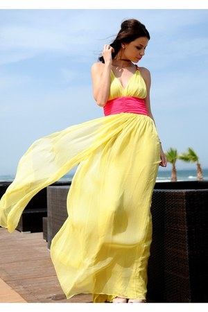 light yellow Zonia dress