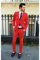 red suit