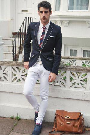 H&M shoes - Topman blazer - Primark tie