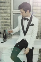 White Tuxedo blazer